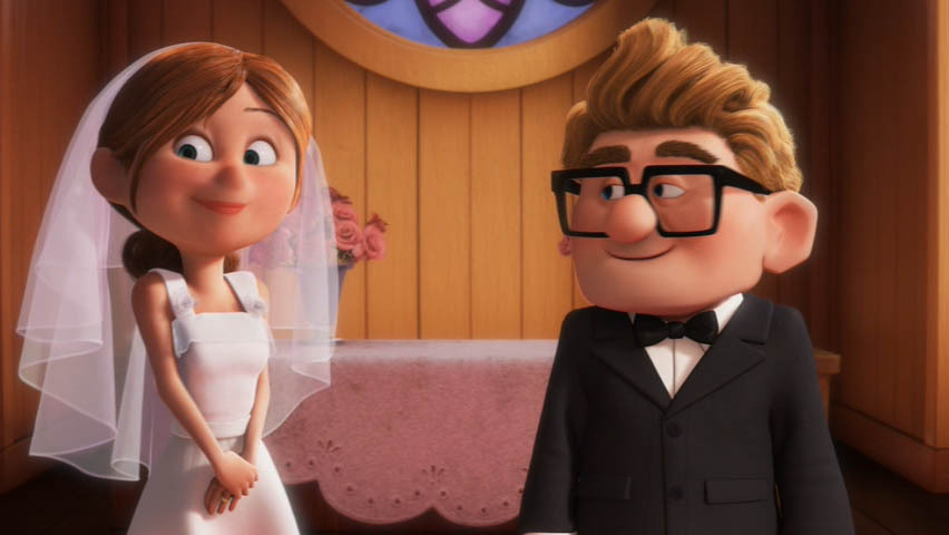 Up's portrayal of Carl and Ellie's relationship adds poignancy to the events that follow