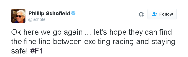 Phillip Schofield's Twitter Account
