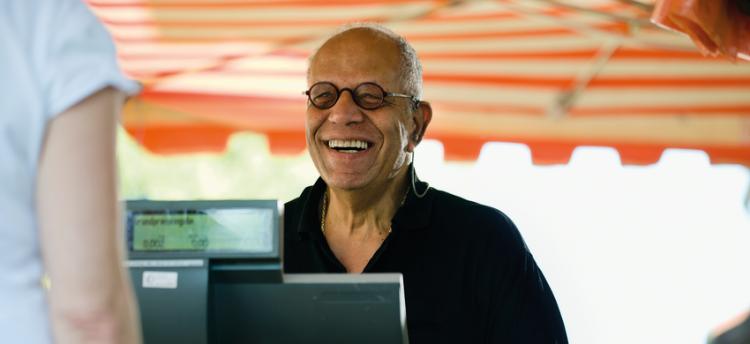 older male working