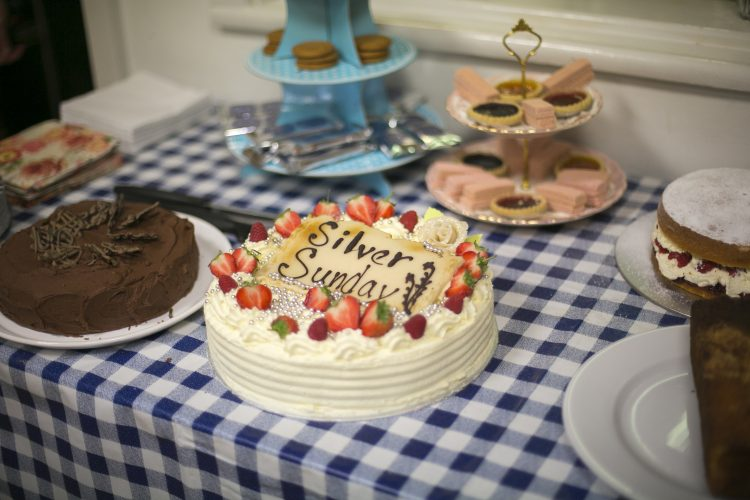 Silver Sunday Cake