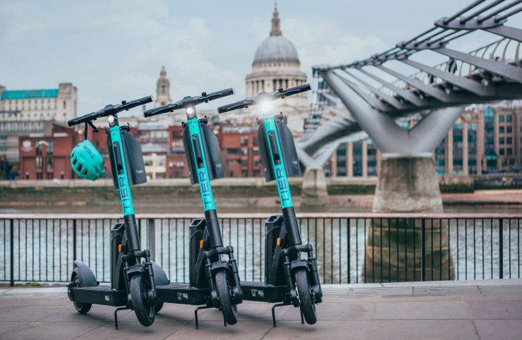 e-scooter london